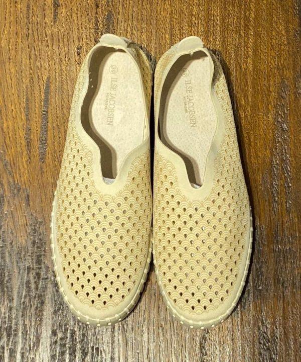 Ilse Jacobsen Schuhe für den Sommer – Gelb