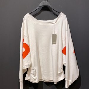 Elias Rumelis Sweatshirt für Damen in weiß.
