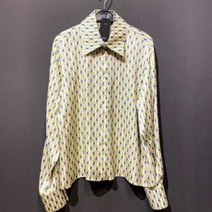 Drykorn Bluse Damen weiss gemustert - 100% Viskose