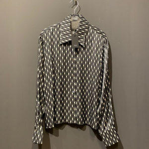 Drykorn Bluse Damen schwarz gemustert - 100% Viskose