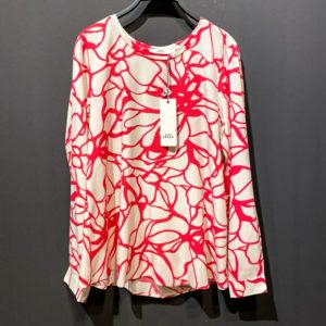 0039 Italy Bluse für Damen - Blumen Muster