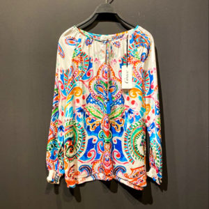 GRACE Bluse für Damen - IBIZA Paisleymuster