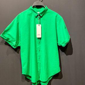 0039 Italy Bluse für Damen in grün