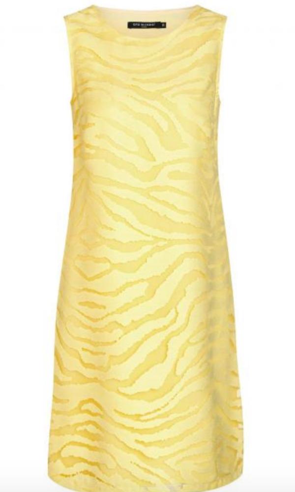 Gelbes Sommerkleid von Ana Alcazar