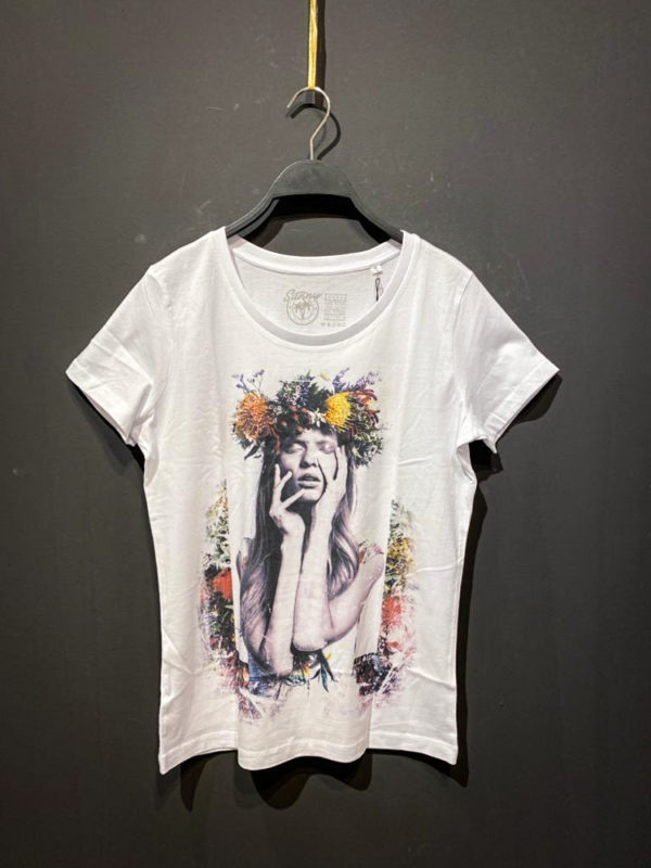 Sunny T-Shirt für Damen mit Boho Print