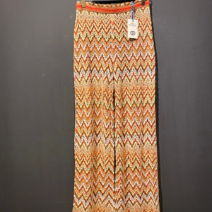 Ana Alcazar Sommer Hose im Boho Look in Orange