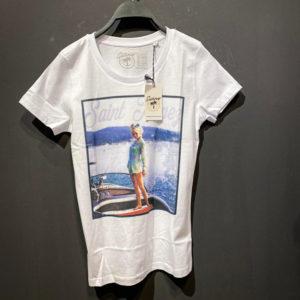 Sunny T-Shirt für Damen mit Beach Print