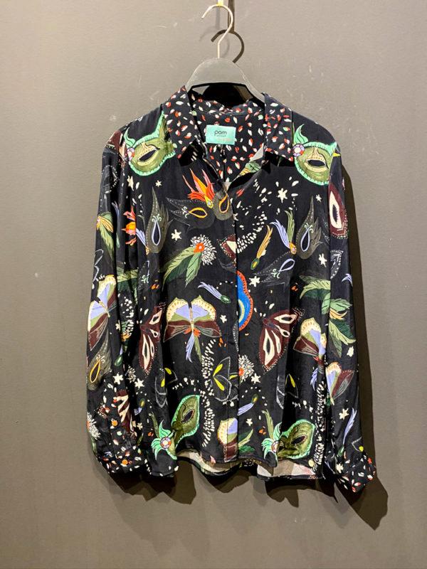 Pom Bluse für Damen