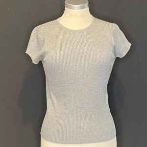 Drykorn Damen Pullover 1/2 Arm Grey/mel.