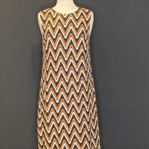 Ana Alcazar elegantes Kleid mit Markanten Muster