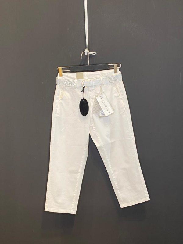 Cream Jog-Pant Jersey 7/8 Pant Weiß